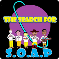 The Search for S.O.A.P Logo